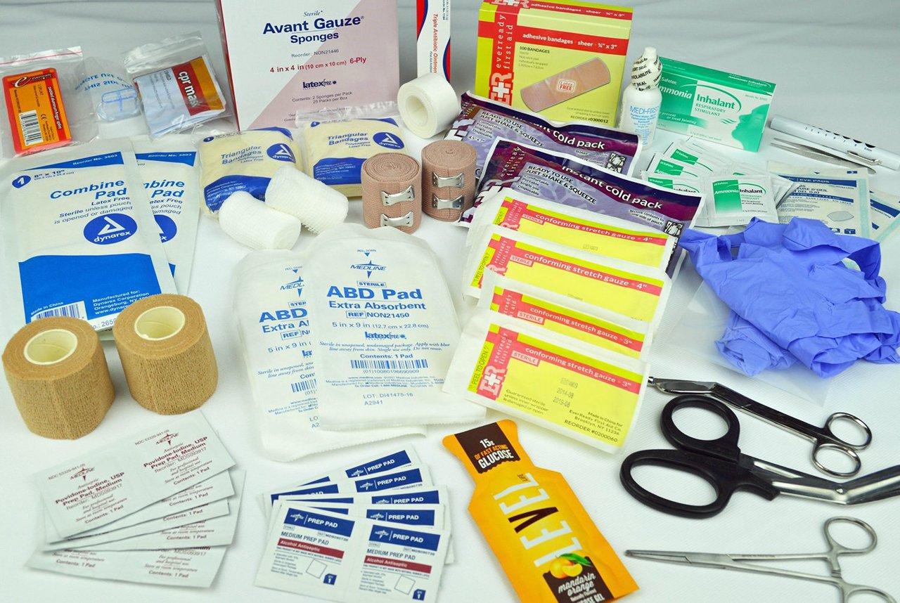 Medical supplies and Instruments